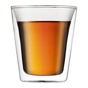 bodum ボダム CANTEEN キャンティーン ダブルウォールグラス(0.2L×2個セット)|concent