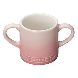 両脇に持ち手がついたお子様向けのマグカップです。 持ち手が両側についているので安心してご利用いただけ...