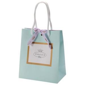 TOCCA(トッカ)の上品なブルーを基調にした専用の紙袋はTOCCAの贈り物をお渡し頂く際に最適! ...