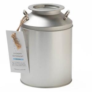とみおかクリーニング 洗濯洗剤800g・ミルク缶入り(計量スプーン付)