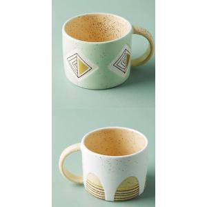 アンソロポロジー マグカップ スープカップ 幾何学 Anthropologie|conceptstore