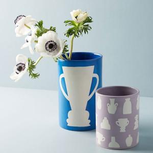 アンソロポロジー 花瓶 フラワーベース ブルー 陶器 Anthropologie|conceptstore