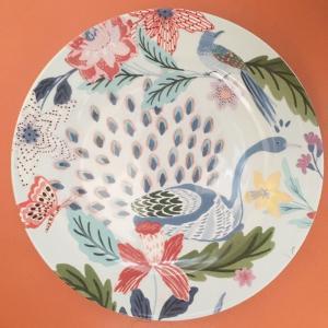 アンソロポロジー サイドプレート 鳥柄 花柄ケーキ皿 取り皿 ケーキプレート Lyra Anthropologie|conceptstore