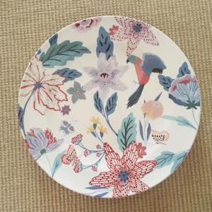アンソロポロジー ディナープレート 鳥柄 花柄 大皿 Lyra Anthropologie|conceptstore