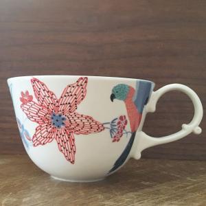 アンソロポロジー マグカップ スープカップ 鳥柄 花柄  Lyra Anthropologie|conceptstore