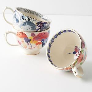 アンソロポロジー マグカップ スープカップ うさぎ/キノコ 花柄  Anthropologie|conceptstore