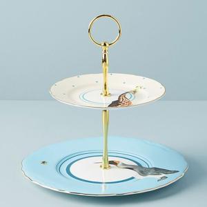 アンソロポロジー ケーキスタンド サイドプレート 皿 陶器製  Anthropologie|conceptstore