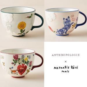 アンソロポロジー  ナタリーレテ マグカップ コーヒーカップ スープカップ Anthropologie conceptstore