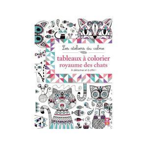 大人の塗り絵 ネコの王国 アートセラピー ぬり絵 大人のためのぬりえ 猫 ねこ アンチストレス リラックス 雑貨|conceptstore