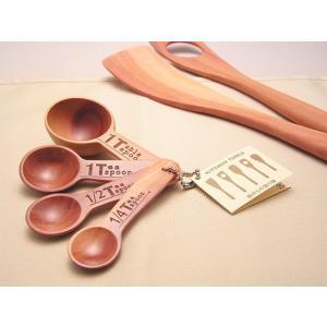 木のメジャースプーン 計量スプーン ナチュラルデザイン 木の食器|conceptstore