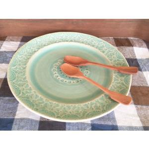 ぬくもりのある木のスプーン アイスクリームスプーン サオ ヴィンテージ 北欧インテリア プレゼントに ナチュラルデザイン 木の食器|conceptstore