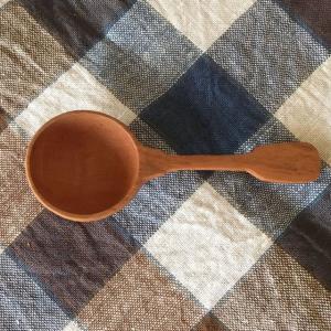 ぬくもりのある木のコーヒーメジャースプーン ティーメジャースプーン 計量スプーン サオ ヴィンテージ 北欧インテリア ナチュラルデザイン 木の食器|conceptstore