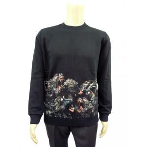 GIVENCHY ジバンシー メンズ スウェットシャツ 16F7308 653 001 ブラック...