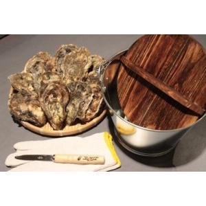 厚岸バケツ牡蠣セット(丸えもんL-size 20個入)|conchiglie