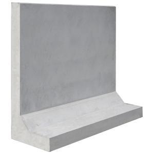 基礎一体型鉄筋コンクリート塀「塀のねっこ」 高さH=1300|concrete