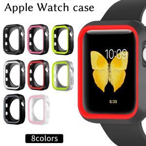 Apple watch カバー 44mm 42mm 40mm 38mm Series SE 6 5 4 3 2 ソフトケース アップルウォッチ Series5 Series4 Series3 Series2 ケース カバー|confianceshop