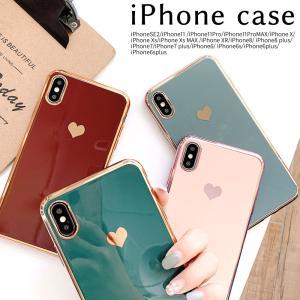 iphone11 ケース iPhone SE ケース iPhone 8 ケース iPhone7 ケース iPhone Xs アイフォン11 ソフトケース アイフォンSE2 韓国 耐衝撃 おしゃれ ハート柄 confianceshop