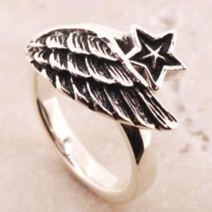 フェザー スター シルバーリング リング 指輪 サイズ 人気 おすすめ ブランド プレゼント シンプル メンズ レディース 送料無料 coniglio