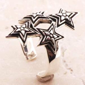 スター シルバーリング リング 指輪 サイズ 人気 おすすめ ブランド プレゼント シンプル メンズ レディース 送料無料 coniglio