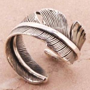 エンジェルフェザー シルバーリング リング 指輪 サイズ 人気 おすすめ ブランド プレゼント シンプル メンズ レディース 送料無料 coniglio