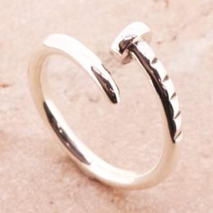 クギ 釘 シルバーリング リング 指輪 サイズ 人気 おすすめ ブランド プレゼント シンプル メンズ レディース 送料無料 coniglio