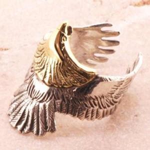 イーグル シルバーリング リング 指輪 サイズ 人気 おすすめ ブランド プレゼント シンプル メンズ レディース 送料無料 coniglio