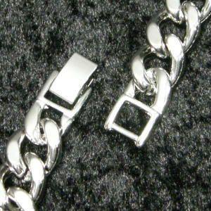シルバー喜平チェーン ブレスレット 極太 ブレスレット メンズ レディース シンプル ブランド おすすめ 人気 送料無料メール便対応|coniglio|05