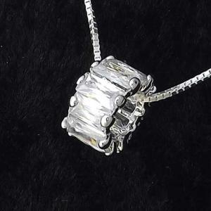 ネックレス レディース ブランド シンプル デザイン 人気 ファッション チェーン プチプラ シルバー 925  リング ネックレス|coniglio