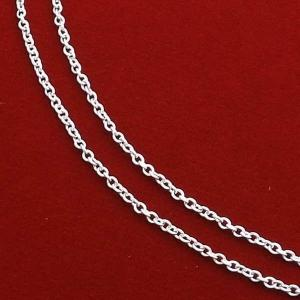 アズキチェーン ネックレス 45cm x 1.2mm 極細 人気 おすすめ ブランド プレゼント シンプル メンズ レディース 送料無料メール便対応|coniglio