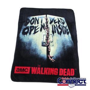 ウォーキングデッド ゾンビ The Walking Dead  フリース 毛布 ブランケット