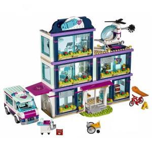 レゴ レゴフレンズ ハートレイクシティの病院