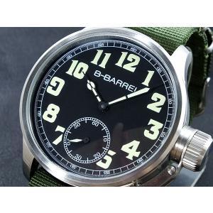 ビーバレル B-BARREL 手巻き式 腕時計 BB0046-1|connection-s