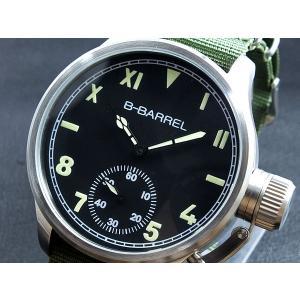 ビーバレル B-BARREL 手巻き式 腕時計 BB0046-4|connection-s