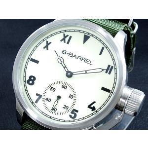 ビーバレル B-BARREL 手巻き式 腕時計 BB0046-5|connection-s