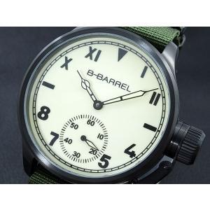 ビーバレル B-BARREL 手巻き式 腕時計 BB0046IPBK-5|connection-s