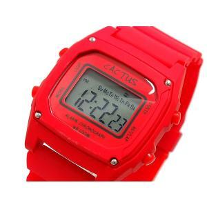 カクタス CACTUS デジタル 腕時計 キッズ CAC-59-M07 レッド connection-s