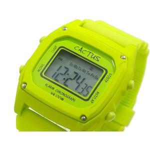 カクタス CACTUS デジタル 腕時計 キッズ CAC-59-M12 ライムグリーン connection-s