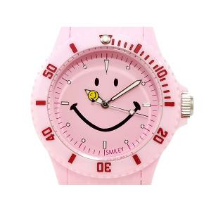スマイリー SMILEY 腕時計 レディース/キッズ WGHB-PP-PKV01 ピンク connection-s