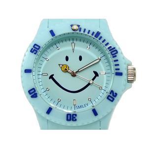 スマイリー SMILEY 腕時計 レディース/キッズ WGHB-PP-BV01 ブルー connection-s