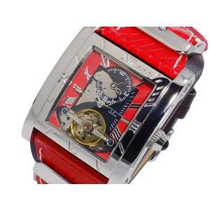 キース バリー KEITH VALLER 自動巻き メンズ 腕時計 SDT2-RD レッド|connection-s