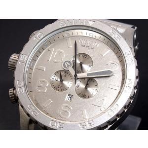 ニクソン NIXON 腕時計 51-30 CHRONO A083-1033 ALL RAW STEEL A0831033|connection-s