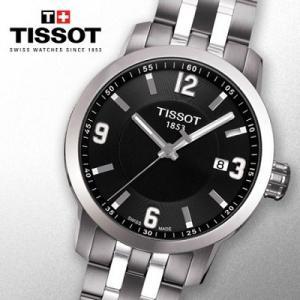 ティソ TISSOT PRC200 メンズ 腕時計 クォーツ ブラック T055.410.11.057.00|connection-s