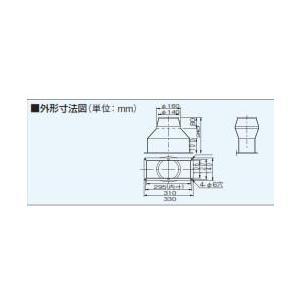 パナソニック 換気扇  FY-AC601 浅型レンジフード用角丸アダプター 浅形レンジフード用 部材 Panasonic conpaneya 02