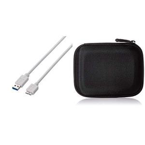エレコム USBケーブル USB3.0 A-microBタイプ スタンダード 1.5m ホワイト U...