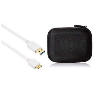 エレコム USBケーブル USB3.0 A-microBタイプ スタンダード 2m ホワイト USB...