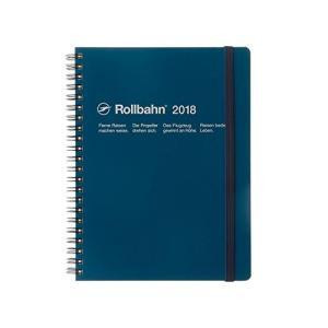 デルフォニックス ロルバーンダイアリーA5(2018年版:2017年10月はじまり) ブルー