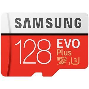 Samsung microSD カード 128GB EVO Plus Class10 UHS-I対応...