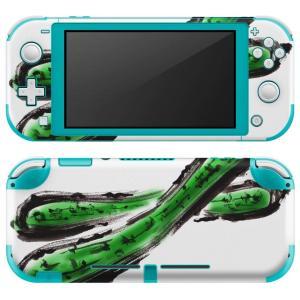 igsticker Nintendo Switch Lite 専用 デザインスキンシール 全面 任天...