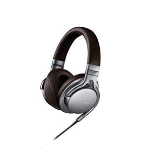 SONY(ソニー) 密閉型ヘッドホン ハイレゾ音源対応 リモコン・マイク付 シルバー MDR-1A/...