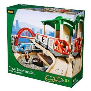 BRIO (ブリオ) WORLD トラベルレールセット [ 木製レール おもちゃ ] 33512|cony